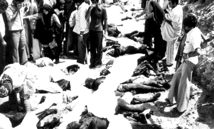 اجساد کشته شدگان سینما رکس