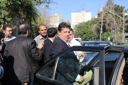 مهدی هاشمی رفسنجانی صبح روز دوشنبه در دادگاه انقلاب اسلامی حضور پیدا کرد./FNA
