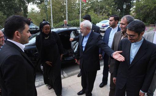 امینه محمد، وزیر امور خارجه و تجارت بینالملل کنیا روز چهارشنبه با محمدجواد ظریف، وزیر امور خارجه دیدار کرد./IRNA