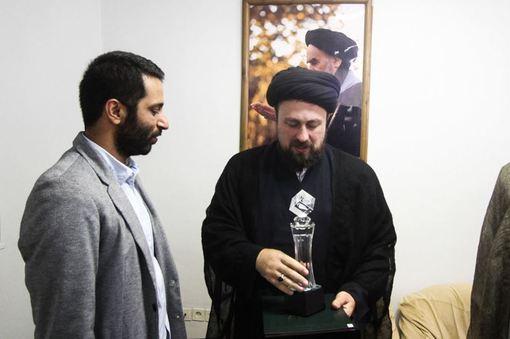 اهدای جایزه بهترین فیلم جهان اسلام به موزه بیت امام (ره)/ISNA