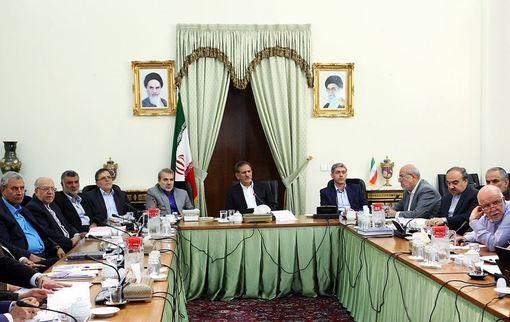جلسه شورای عالی اقتصاد، روز دوشنبه به ریاست اسحاق جهانگیری معاون اول رییس جمهوری برگزار شد./irna