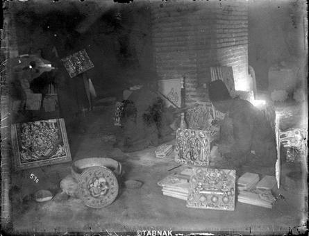 کارگاه کاشی کاری در اصفهان