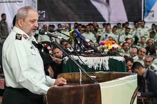 سخنرانی فرمانده ناجا در مراسم تجدید میثاق فرماندهان و پرسنل نیروی انتظامی با آرمانهای امام (ره)/ISNA