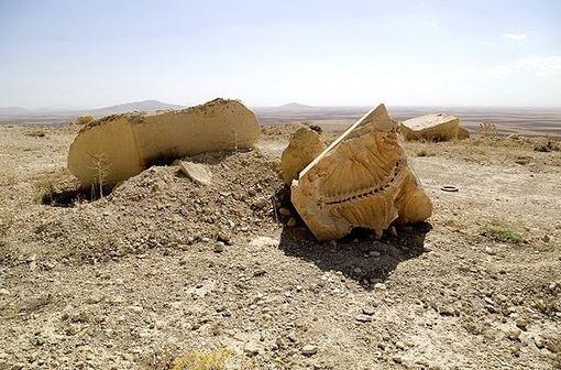 فسیل گاو آبی در جریان بهرهبرداری از معدنی در جوار شهر شیرین سو شهرستان کبودرآهنگ در ۲۰۰ متری شهر و پشت تالاب شیرین سو یافت شده است./fna
