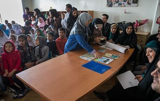 حضور معصومه ابتکار در انجمن کودکان کار./tasnim