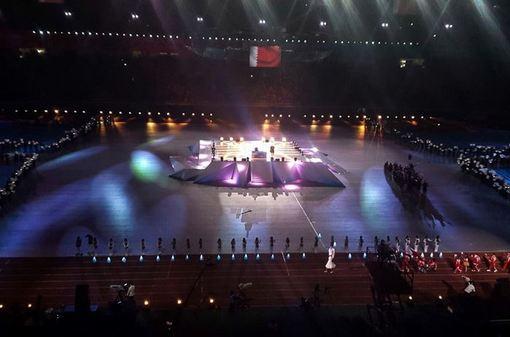 مراسم افتتاحیه بازیهای پاراآسیایی ۲۰۱۴ - اینچئون/isna