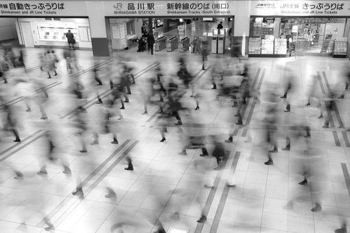 برنده لوح تقدیر بخش مکان. عنوان عکس: توکیو، ایستگاه مترو شیناگاوا. عکاس: Peter Franc