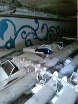 سقف پارکینگ سیتی سنتر اصفهان فرو ریخت