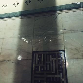 محل دعا و نیایش حضرت محمد (صل الله علیه و آله و سلم) در داخل کعبه