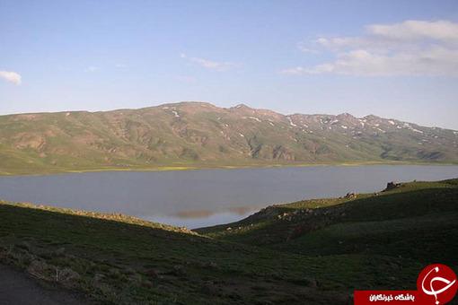 درياچه نئور / مرز بین گیلان و اردبیل
