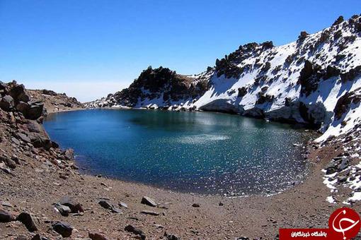 درياچه قله سبلان / استان اردبیل