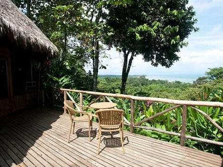 Lapa ریوس Ecolodge دارای حیات وحش کاستاریکا