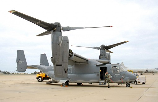 V-22 Osprey: $118 million
