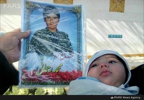 فرزند شهید محمد رحمانی