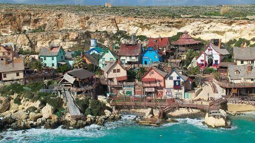 روستای پوپیه در شمال غربی جزیره مالت در میانه دریای مدیترانه قرار دارد.