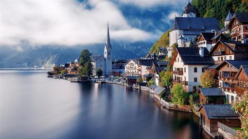 هالاشتات، شهری کوچک در منطقه سالزکامرگوت در ایالت اوبراسترایش در کشور اتریش