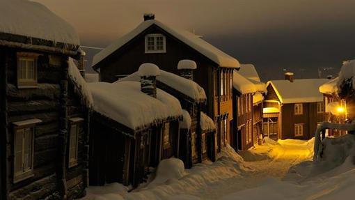 روستای روروس در کشور نروژ