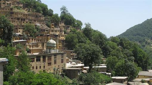 روستای ماسوله در استان گیلان در ایران
