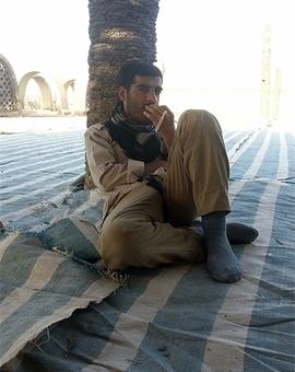شهید علی جمشیدی اهل نور