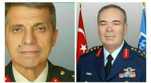 از این دو نظامی ارشد به عنوان فرماندهان کودتا نام برده میشود.