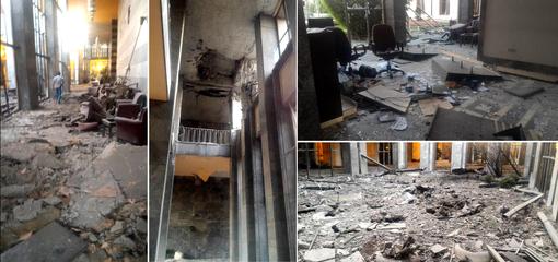 وضعیت پارلمان ترکیه پس از بمبارانهای مکرر