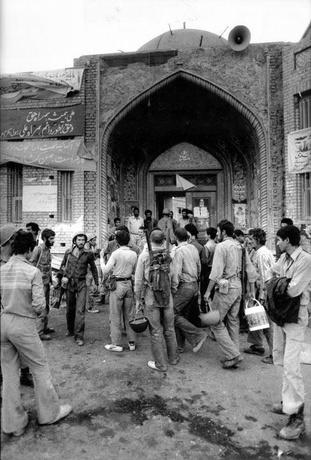 مسجد جامع خرمشهر، ستاد هماهنگی مدافعان شهر بود - عکاس: سعید صادقی