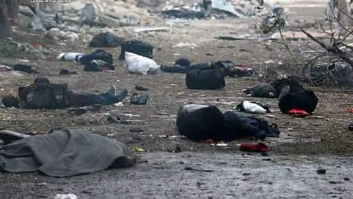 تصاویری از جنایت جدید در حلب