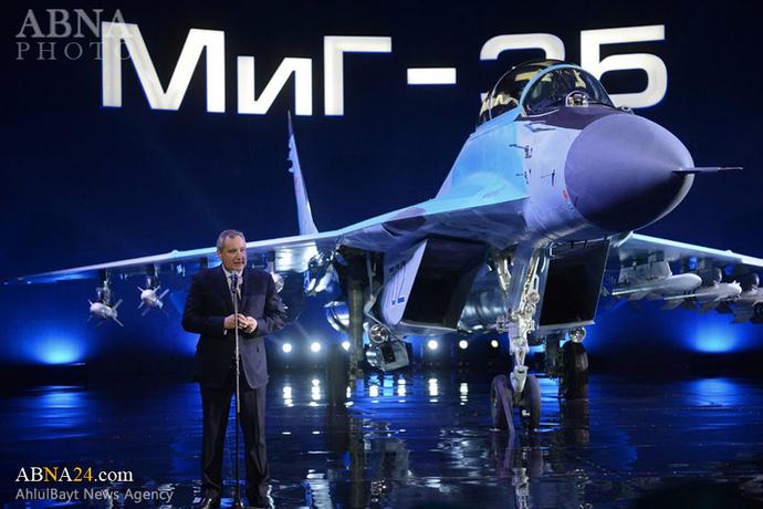 رونمایی روسیه از نسل جدید میگ-۳۵