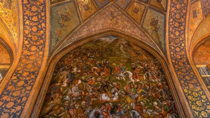 چهل ستون، اصفهان