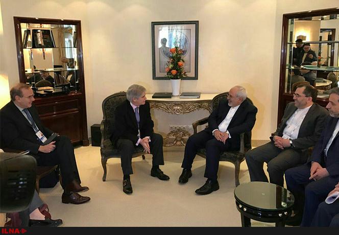آلفونسو داستیس وزیر امور خارجه اسپانیا نیز از مقاماتی بود که در حاشیه کنفرانس امنیتی مونیخ با  محمد جواد ظریف دیدار و گفتوگو کرد.