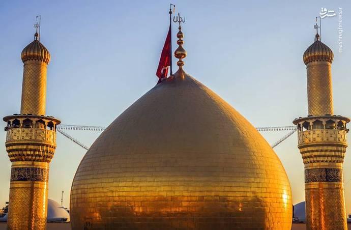 هواسناسی تصاویر زیبا از گنبد حرم امام حسین(ع) - تابناک | TABNAK