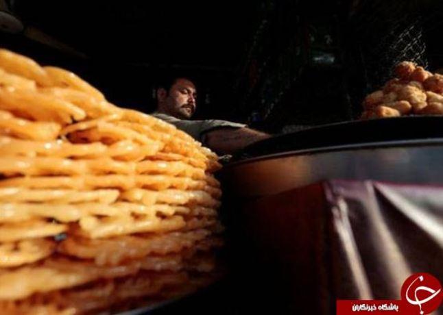 فروش زولبیا در اسلام آباد، پاکستان