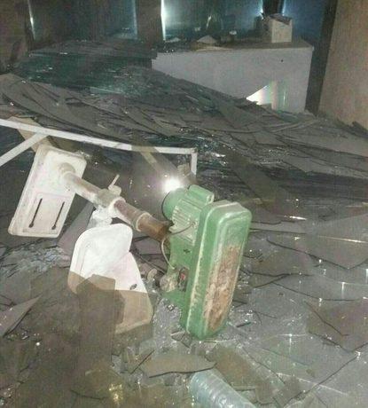 خسارات زلزله در شهر رومشکان استان لرستان
