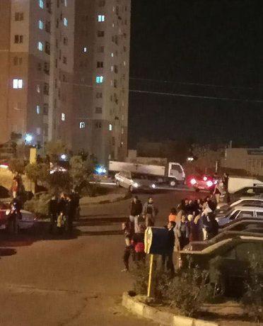 بیرون آمدن مردم در «پرند» تهران از ترس زمین لرزه