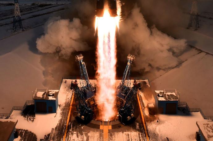 پرتاپ موشک مجهز به ماهواره هواشناسی و تجهیزات آن توسط روسیه