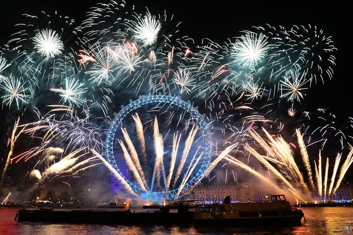 آتش بازی- لندن