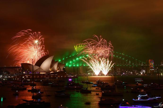 آتش بازی خانوادگی در سیدنی - استرالیا
