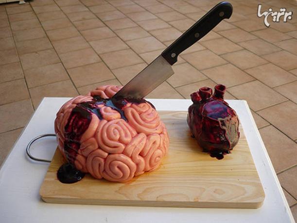 کیک مغز