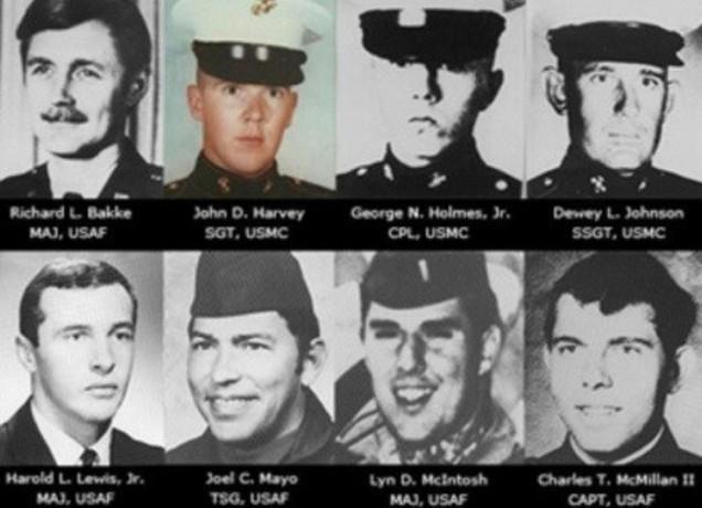 نظامیان کشته شده در این عملیات