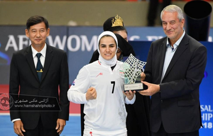 قهرمانی تیم ملی فوتسال بانوان در آسیا