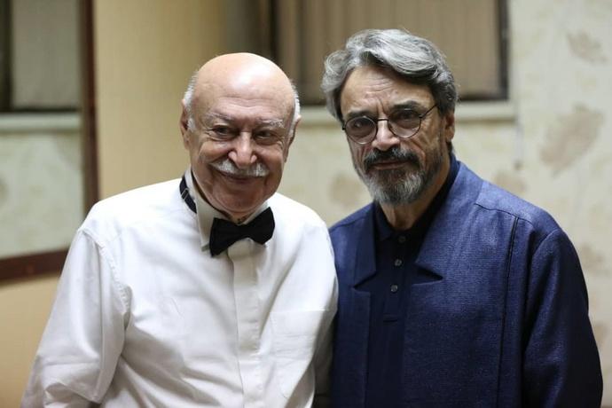 حسین علیزاده و فرهاد فخرالدینی