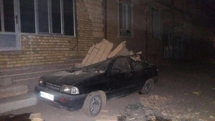 خسارات زلزله در جوانرود