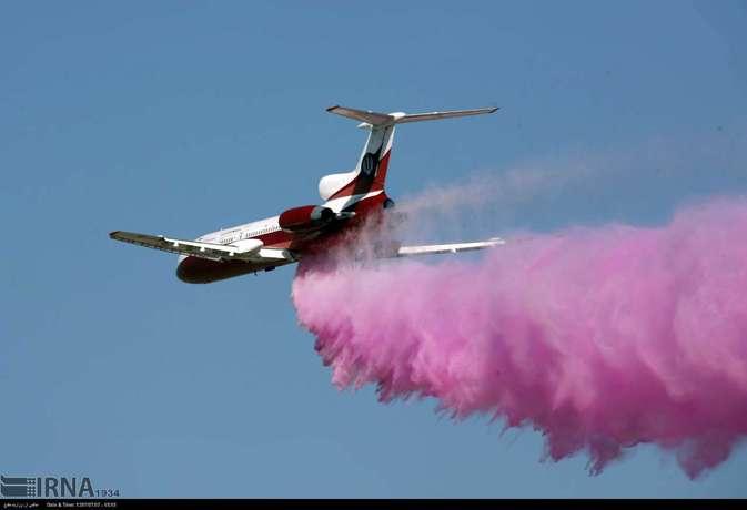 رونمایی از سامانه آتشنشان هوایی