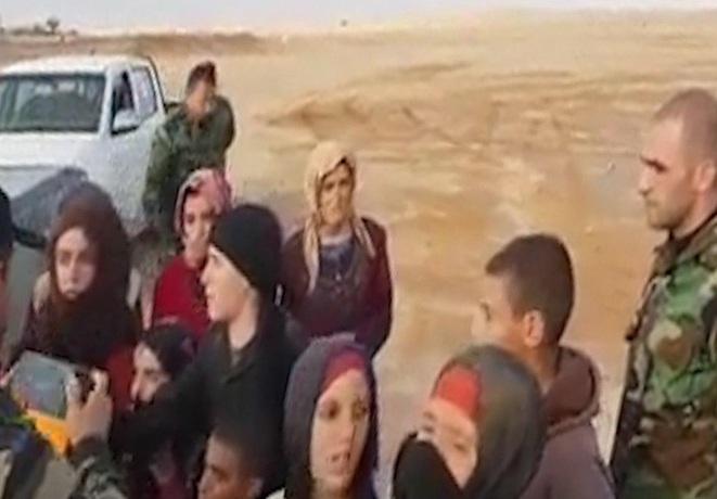 آزادی 19 زن و کودک سوری از چنگال داعش