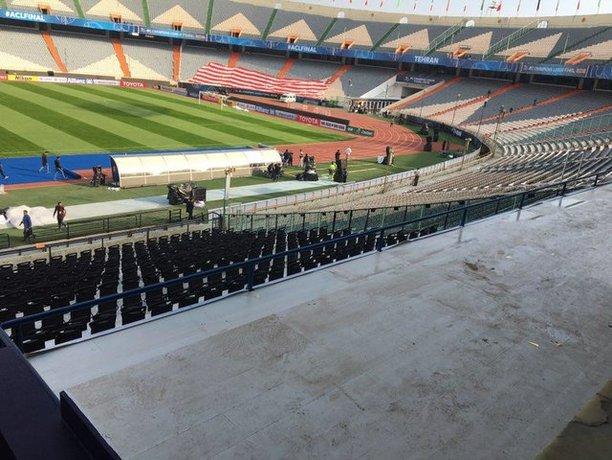 سر و شکل جدید ورزشگاه آزادی