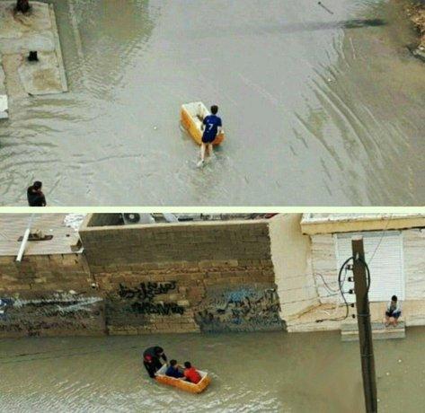 قایقسواری در کوچههای بوشهر