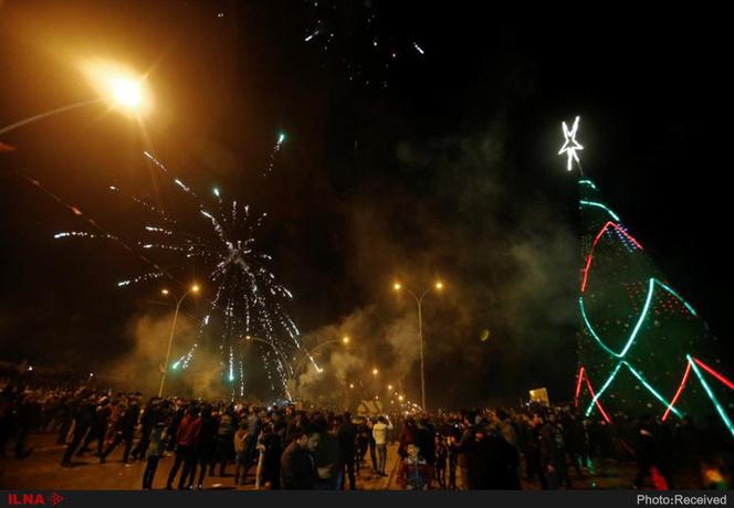 جشن آغاز سال ۲۰۱۹ در نقاط مختلف جهان