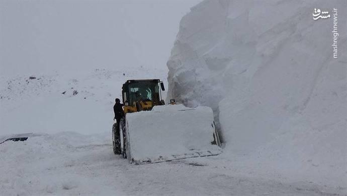 بارش برف بی سابقه در ترکیه