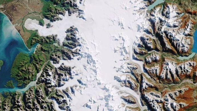 میدان یخچالی پاتاگونیای شمالی