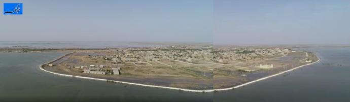 تصویری گویا از پیروزی سیل بندها در رفیع بر سیلاب کرخه